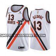 Canotte Los Angeles Clippers Paul George Classic 2019-20 Bianco