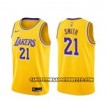 Canotte Los Angeles Lakers J.r. Smith Icon 2020 Giallo