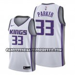 Canotte Sacramento Kings Jabari Parker Association 2019-20 Bianco