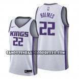 Canotte Sacramento Kings Richaun Holmes Association Bianco