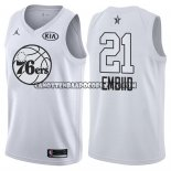 Canotte NBA All Star 2018 76ers Jimmy Joel Embiid Bianco