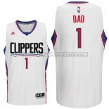 Canotte NBA Festa del papa Clippers Dad Bianco
