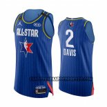 Canotte All Star 2020 Los Angeles Lakers Anthony Davis Autentico Blu