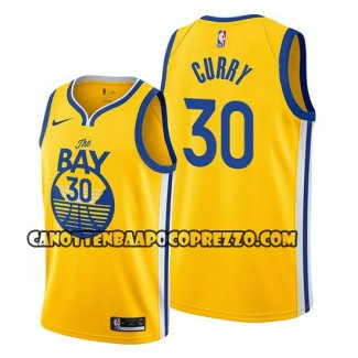 Canotte Golden State Warriors Stephen Curry Statement The Bay Or