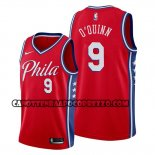 Canotte Philadelphia 76ers Kyle O'quinn Statement Edition Rosso
