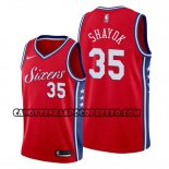 Canotte Philadelphia 76ers Marial Shayok Statement Rosso