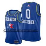 Canotte All Star 2020 Houston Rockets Russell Westbrook Blu