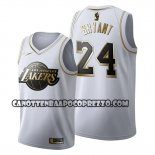Canotte Golden Edition Los Angeles Lakers Kobe Bryant 2019-20 Bianco