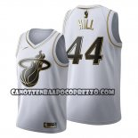 Canotte Golden Edition Miami Heat Solomon Hill 2019-20 Bianco
