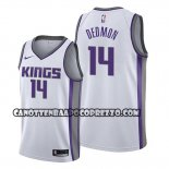 Canotte Sacramento Kings Dewayne Dedmon Association Bianco