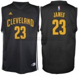 Canotte NBA Moda Nero Cavaliers James Nero