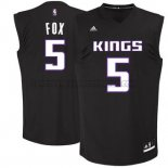 Canotte NBA Moda Nero Kings Fox Negro