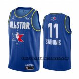 Canotte All Star 2020 Indiana Pacers Domantas Sabonis Blu