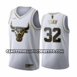 Canotte Golden Edition Chicago Bulls Kris Dunn 2019-20 Bianco
