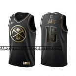 Canotte Golden Edition Denver Nuggets Nikola Jokic Nero