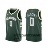 Canotte Milwaukee Bucks Donte Divincenzo Icon Verde