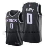 Canotte Sacramento Kings Justin James Statement 2019-20 Nero