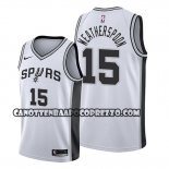 Canotte San Antonio Spurs Quinndary Weatherspoon Association 2019-20 Bianco