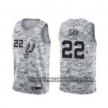 Canotte San Antonio Spurs Rudy Gay Earned Camuflaje