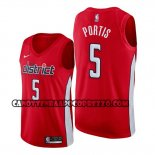 Canotte Washington Wizards Bobby Portis Earned Rosso