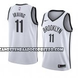 Canotte Brooklyn Nets Kyrie Irving Association 2019-20 Bianco