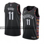 Canotte Brooklyn Nets Kyrie Irving Ciudad 2019-20 Nero