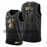 Canotte Golden Edition Brooklyn Nets Kyrie Irving Nero
