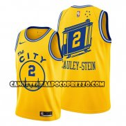 Canotte Golden State Warriors Willie Cauley Stein Hardwood Classics Or