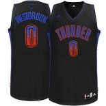 Canotte NBA Ambiente Thunder Westbrook Nero