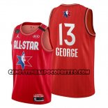 Canotte All Star 2020 Los Angeles Clippers Paul George Rosso