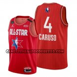 Canotte All Star 2020 Los Angeles Lakers Alex Caruso Rosso