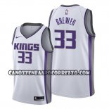 Canotte Sacramento Kings Corey Brewer Association Bianco