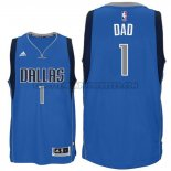 Canotte NBA Festa del papa Mavericks Dad Blu