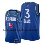 Canotte All Star 2020 Los Angeles Lakers Anthony Davis Blu