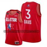 Canotte All Star 2020 Los Angeles Lakers Anthony Davis Rosso
