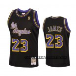 Canotte Los Angeles Lakers Lebron James Reload Hardwood Classics 2020 Nero