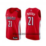 Canotte Washington Wizards Moritz Wagner Earned Rosso