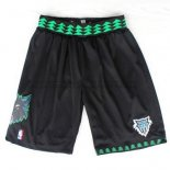 Pantaloncini Throwback Timberwolves Nero