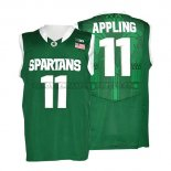 Canotte NBA NCAA Michigan State Spartans Keith Appling Verde