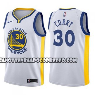 Canotte Bambino State Golden State Warriors Stephen Curry Bianco