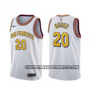 Canotte Golden State Warriors Alec Burks Classic Bianco