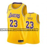 Canotte Los Angeles Lakers Anthony Davis Icon 2019-20 Giallo