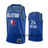 Canotte All Star 2020 Los Angeles Lakers Kobe Bryant Blu