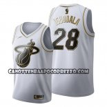 Canotte Golden Edition Miami Heat Andre Iguodala 2019-20 Bianco
