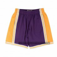 Pantaloncini Los Angeles Lakers Mitchell & Ness Viola