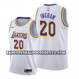 Canotte Los Angeles Lakers Andre Ingram Association Bianco