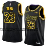 Canotte Los Angeles Lakers Anthony Davis Ciudad 2019-20 Nero