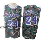 Canotte Los Angeles Lakers Kobe Bryant Camuffamento Verde