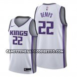 Canotte Sacramento Kings Cody Demps Association Bianco