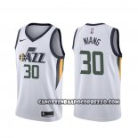Canotte Utah Jazz Georges Niang Association Bianco